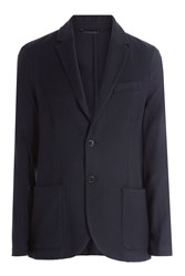 Closed Wool Blazer Blue
