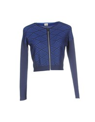 Pinko Tag Knitwear Cardigans Women Dark Blue