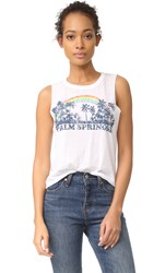 Chaser Palm Springs Tank White