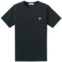 Stone Island Patch Logo Tee Black