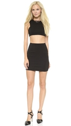 Aq Aq Chrissy Mini Dress Black