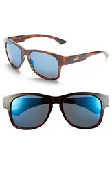 Smith Women's 'Wayward' 54Mm Polarized Sunglasses Havana Polar Blue Mirror Havana Polar Blue Mirror