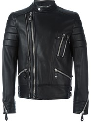 Philipp Plein 'The Perfect Mix' Biker Jacket Black