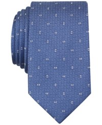 Bar Iii Forester Micro Skinny Tie Only At Macy's Blue
