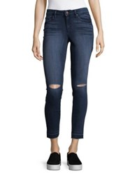 William Rast Distressed Skinny Ankle Jeans Currently