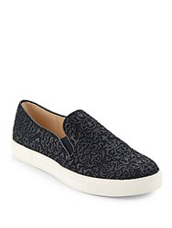 Karl Lagerfeld Active Textured Slip On Sneakers Black White