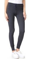 Sundry Skinny Sweatpants Heather Charcoal