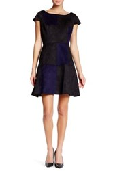 Eva Franco Artist Colorblock Panel Dress Black