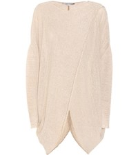 Stella Mccartney Criss Cross Sweater Beige