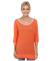 Lole Mable Tunic Mandarino Women's Sweater Orange