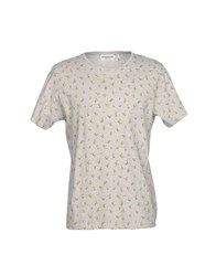 Essentiel Antwerp T Shirts Light Grey