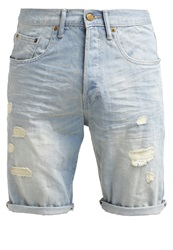 Esprit Denim Shorts Bleached Blue Light Blue