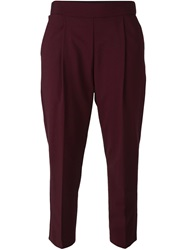Erika Cavallini Semi Couture 'Julius' Trousers Red