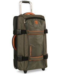 Timberland Twin Mountain 30 Wheeled Duffel Bag Burnt Olive Burnt Orange
