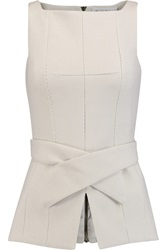 Amanda Wakeley Belted Stretch Cady Top