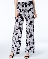 Inc International Concepts Printed Wide Leg Soft Pants Only At Macy's Lace Flower Shop