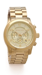 Michael Kors Oversized Watch Gold