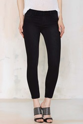 Nasty Gal Anais Mid Rise Skinny Jeans