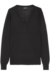 Joseph Cashmere Sweater Black
