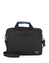 Original Penguin Nylon Core Briefcase Black