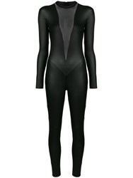 Maison Close Noire Catsuit Black