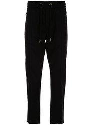 Dolce And Gabbana Cropped Track Pants 60