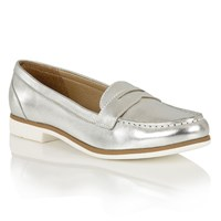 Lotus Lilou Ii Loafers Silver