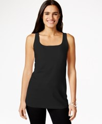 Styleandco. Style And Co. Petite Shelf Bra Tank Top Only At Macy's