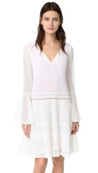 Jonathan Simkhai Tunic Dress White