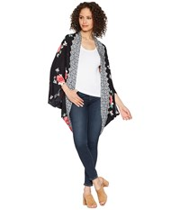 Bishop Young Stella Print Kimono Stella Print Clothing Black