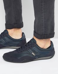 Boss Orange By Hugo Pulse Run Trainers Navy