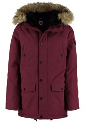 Carhartt Wip Anchorage Parka Chianti Black Bordeaux