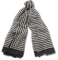 Haider Ackermann Striped Wool Scarf