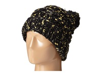 San Diego Hat Company Knh3362 Chunky Yarn Beanie With Metallic Yarn Black Beanies