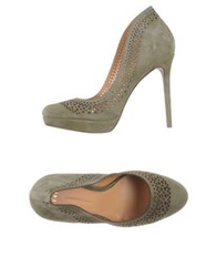 Aerin Pumps Military Green