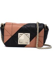 Sonia Rykiel Chain Strap Mini Crossbody Bag Black