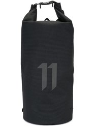11 By Boris Bidjan Saberi 'X Explored' Visibility Backpack Black