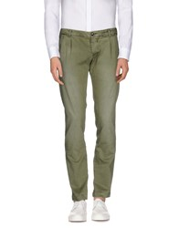 Monocrom Trousers Casual Trousers Men Military Green