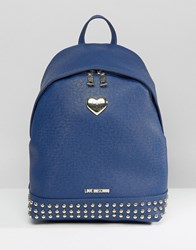 Love Moschino Backpack Blue