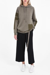 Helmut Lang Women S Patch Pocket Hoodie Boutique1 Green