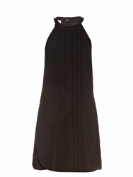 A.L.C. Liv Crepe Dress Black