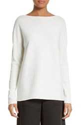 Lafayette 148 New York Women's V Back Ribbed Sweater