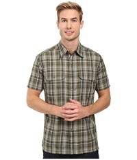 Kuhl Response Short Sleeve Shirt Olive Men's Short Sleeve Button Up