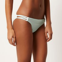 River Island Womens Light Green Low Rise Bikini Bottoms