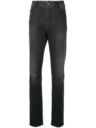 Class Roberto Cavalli Slim Faded Jeans Black