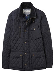 Joules Stafford Quilted Jacket Navy
