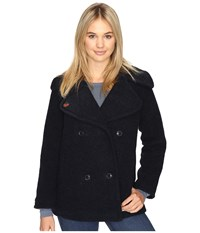 Obey Karina Coat Navy Women's Coat