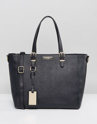 Carvela Winged Tote Bag Black