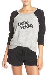Make Model Women's 'Hello Friday' Crewneck Lounge Sweater