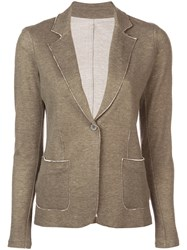 Majestic Filatures Relaxed Fit Blazer Grey